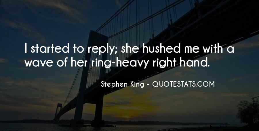 Hushed Quotes #252713
