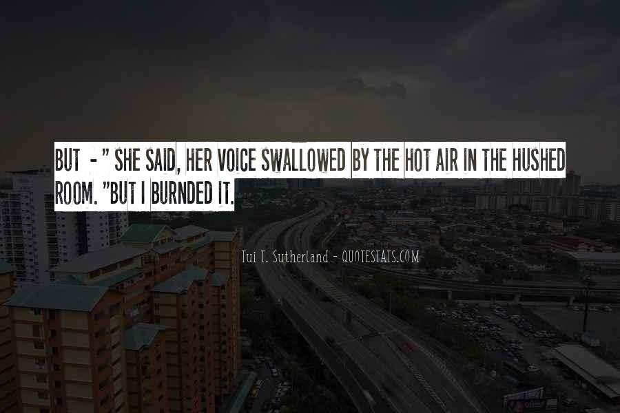 Hushed Quotes #344989