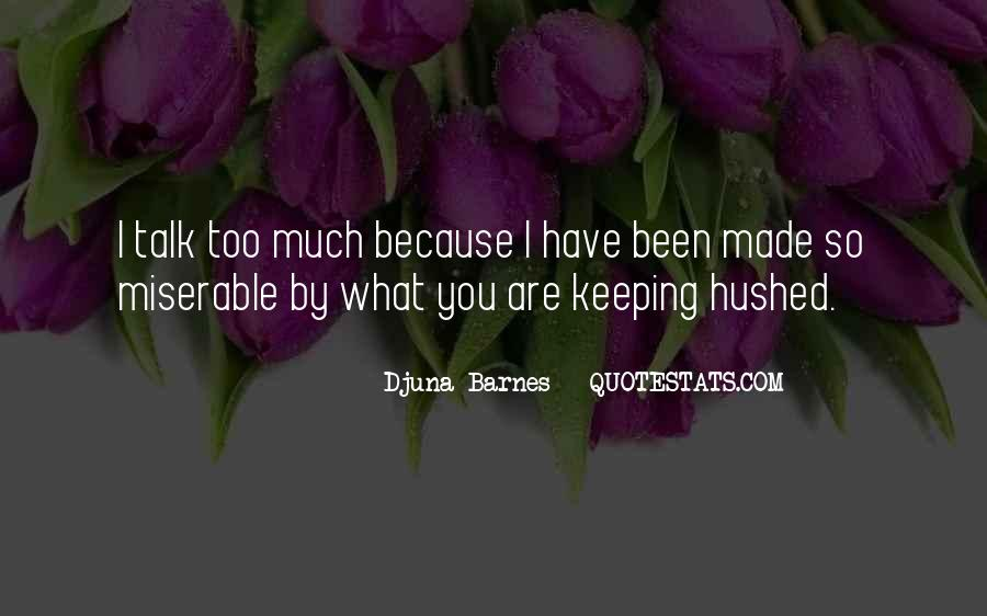 Hushed Quotes #863591