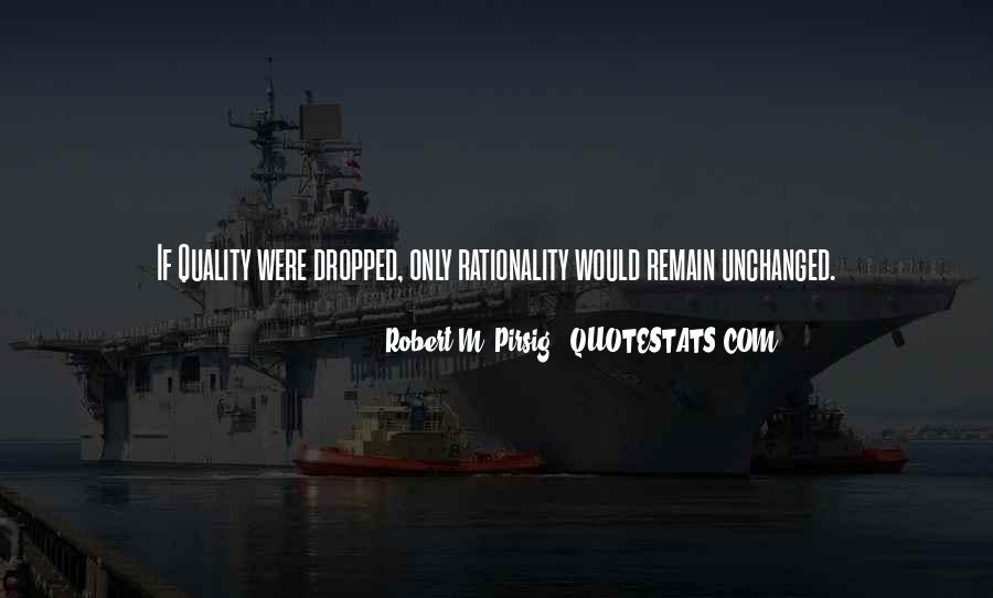 Quotes About Quality Pirsig #1493176