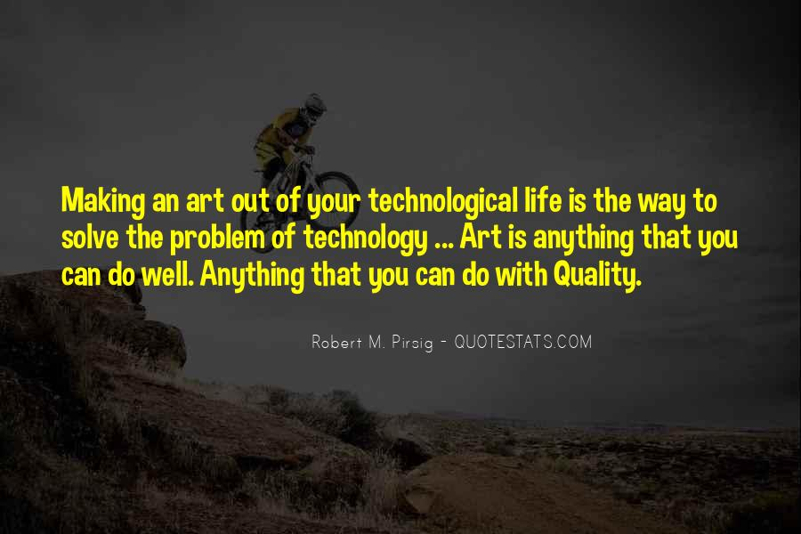 Quotes About Quality Pirsig #262699