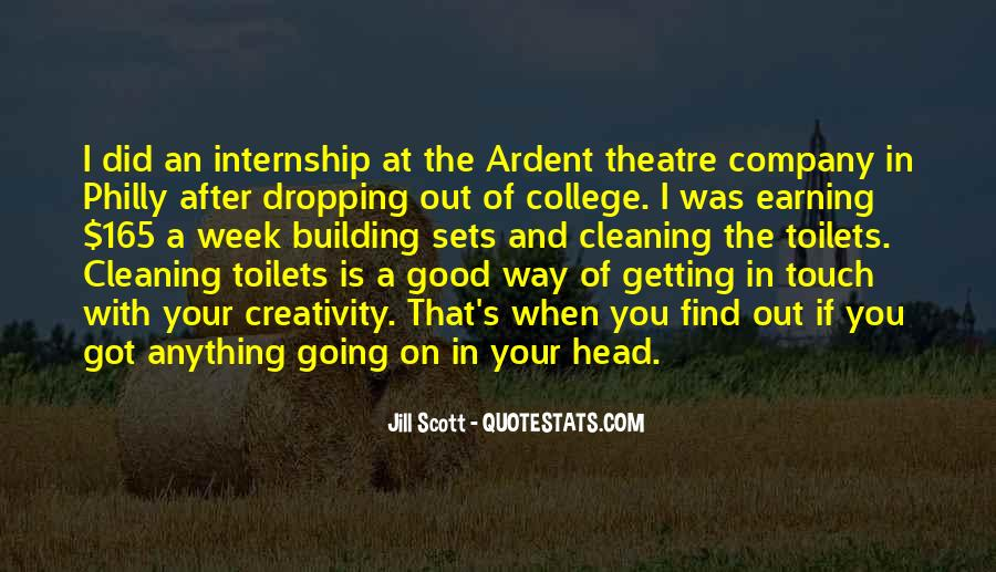 Quotes About Getting Out Of Your Head #1258691
