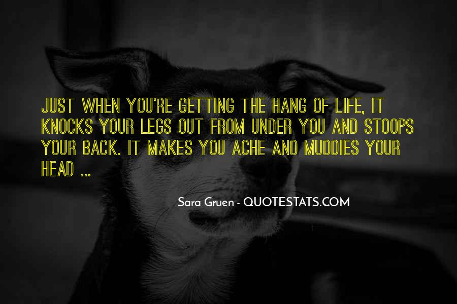 Quotes About Getting Out Of Your Head #1349859