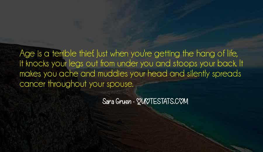 Quotes About Getting Out Of Your Head #1452529