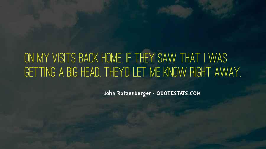 Quotes About Getting Out Of Your Head #155793