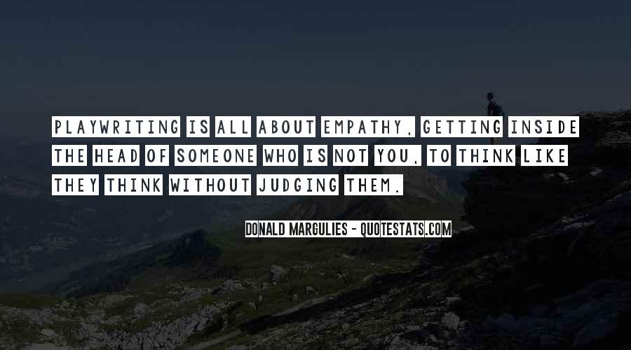 Quotes About Getting Out Of Your Head #155802