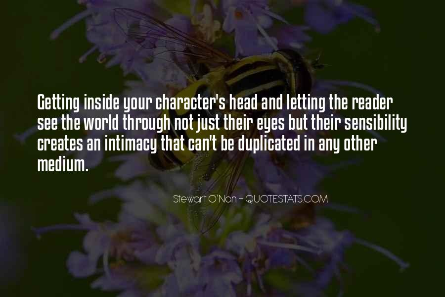 Quotes About Getting Out Of Your Head #55688