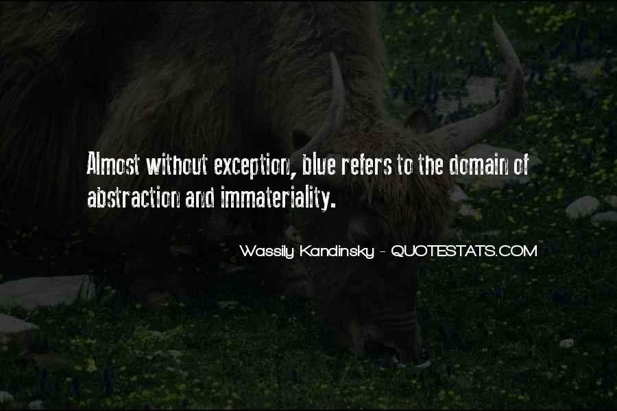 Immateriality Quotes #1365935