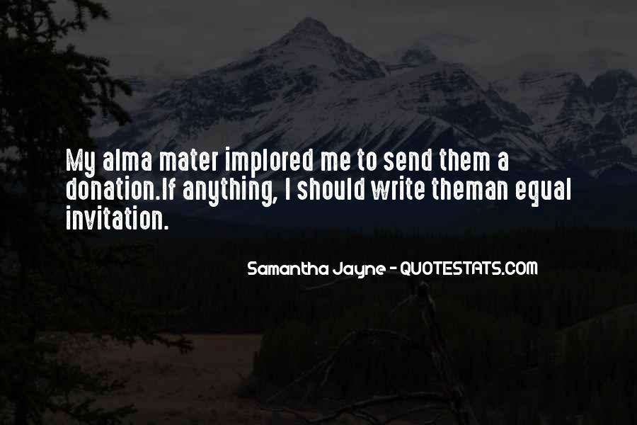 Implored Quotes #1558793