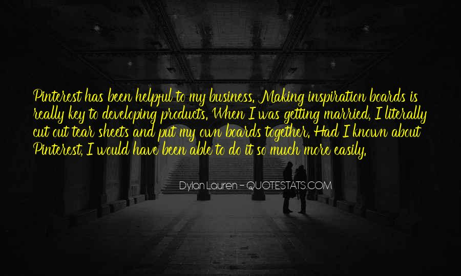 Quotes About Making It Together #395037