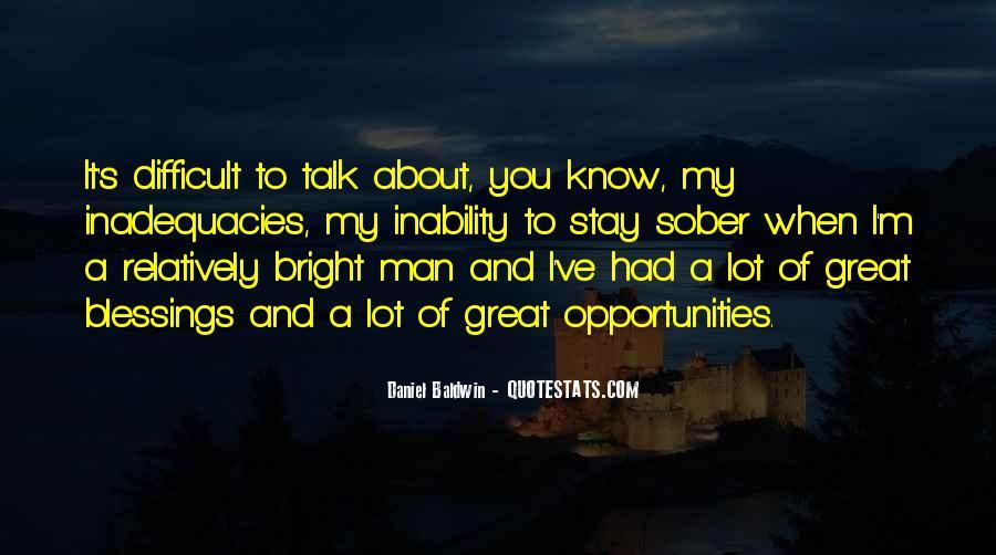 Inadequacies Quotes #1259735