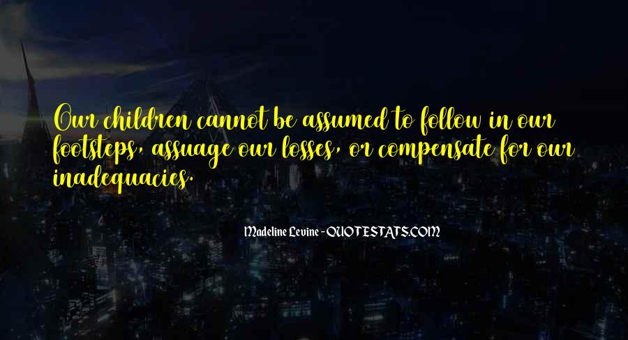 Inadequacies Quotes #1313789