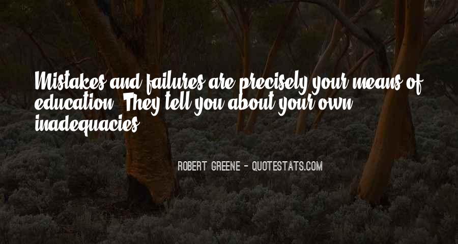 Inadequacies Quotes #1463676