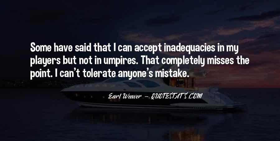 Inadequacies Quotes #1737694
