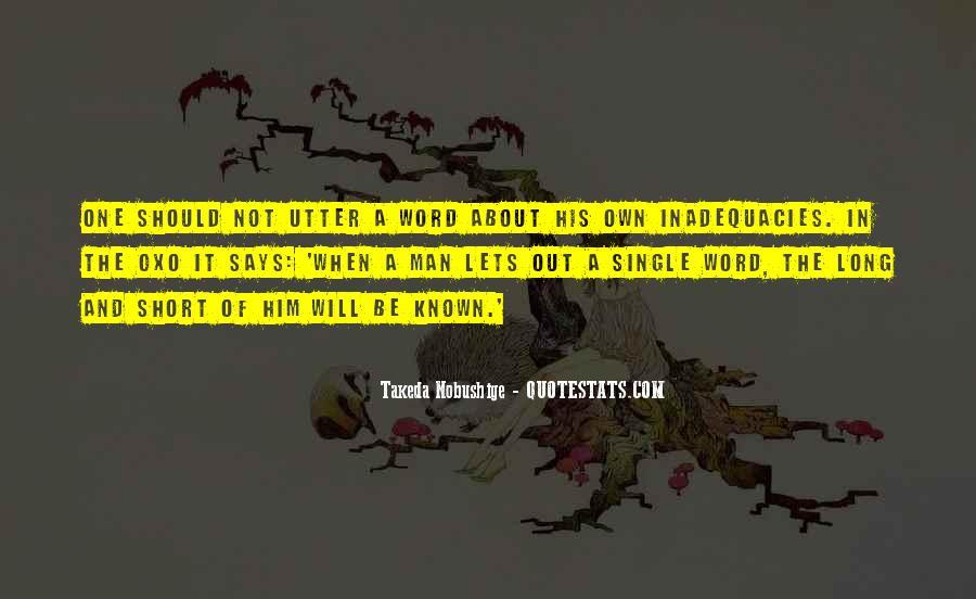 Inadequacies Quotes #1796541