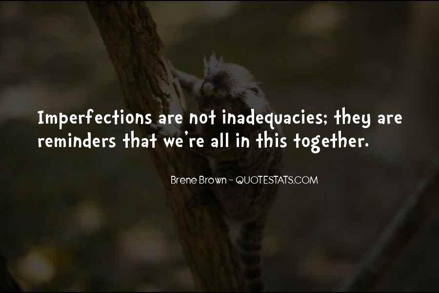 Inadequacies Quotes #1854140