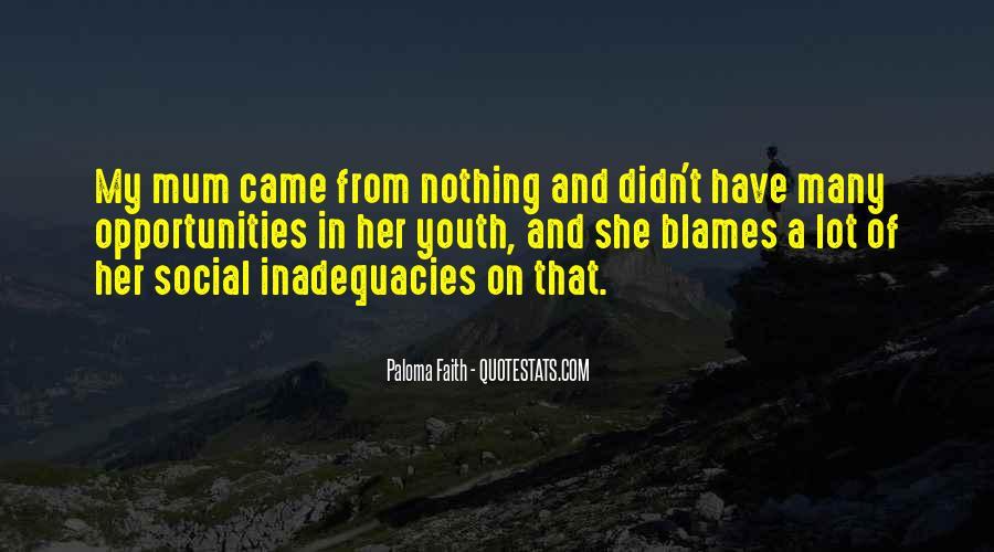 Inadequacies Quotes #375817