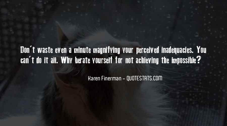 Inadequacies Quotes #453532