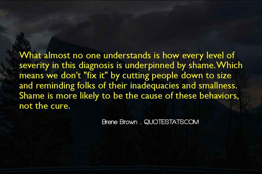Inadequacies Quotes #541671