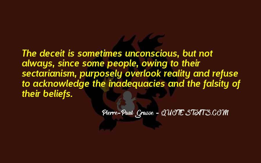 Inadequacies Quotes #626235