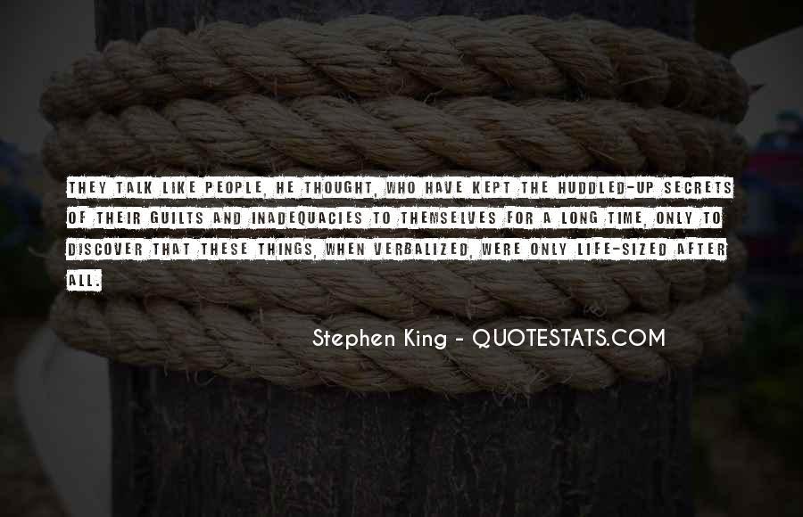 Inadequacies Quotes #712098