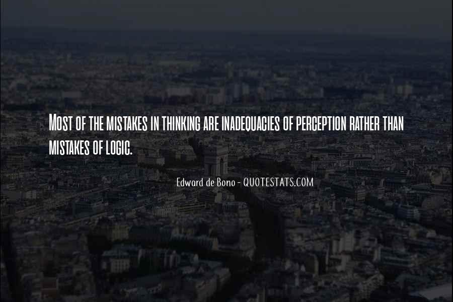 Inadequacies Quotes #936686