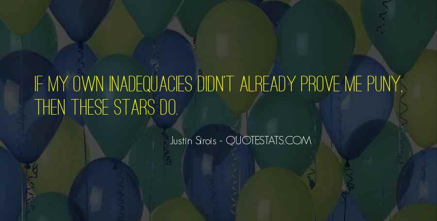 Inadequacies Quotes #944023