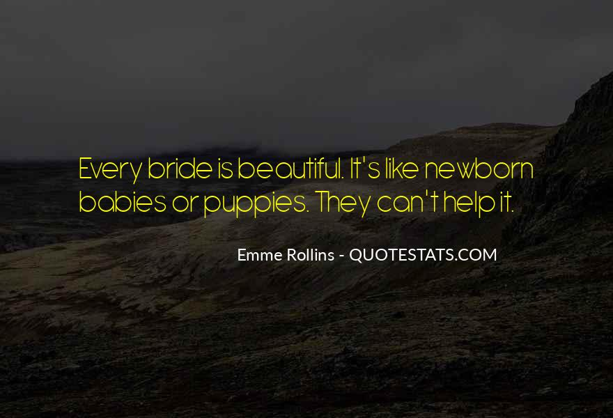 Quotes About Newborn Puppies #1037733