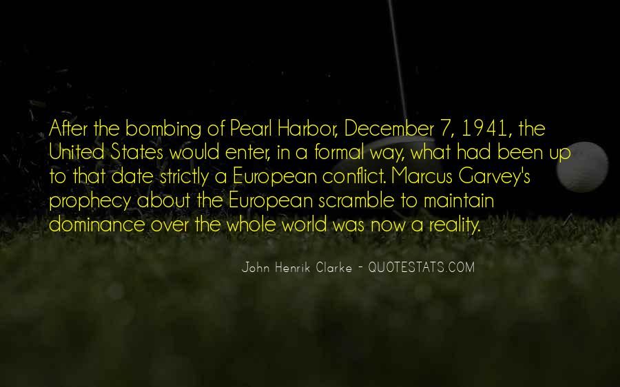 Quotes About The Bombing Of Pearl Harbor #1770620