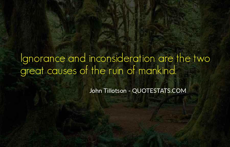 Inconsideration Quotes #116417
