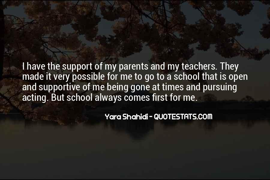 Quotes About Parents Not Being Supportive #1227565