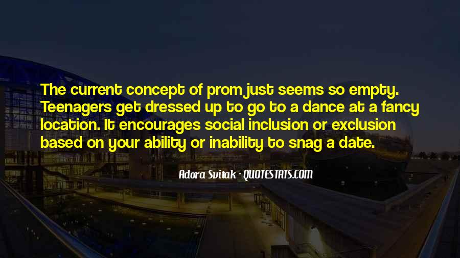Quotes About Social Exclusion #1544727