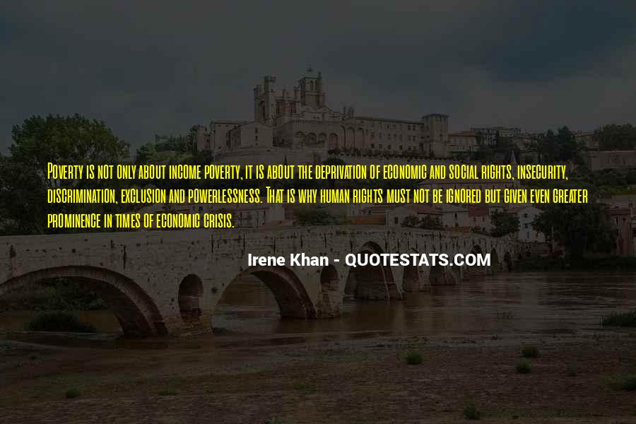 Quotes About Social Exclusion #382327