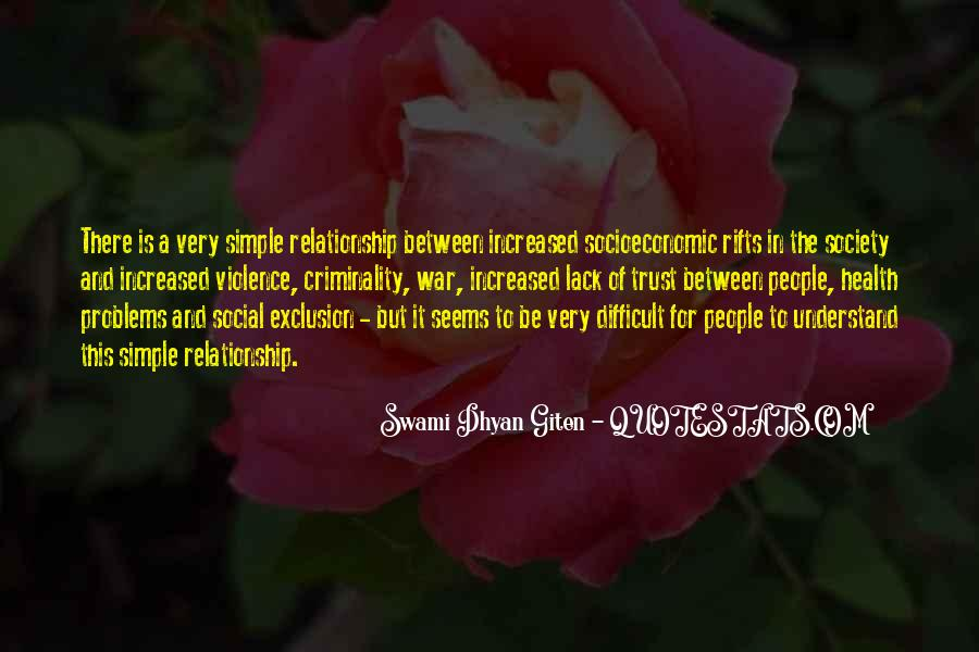Quotes About Social Exclusion #678041
