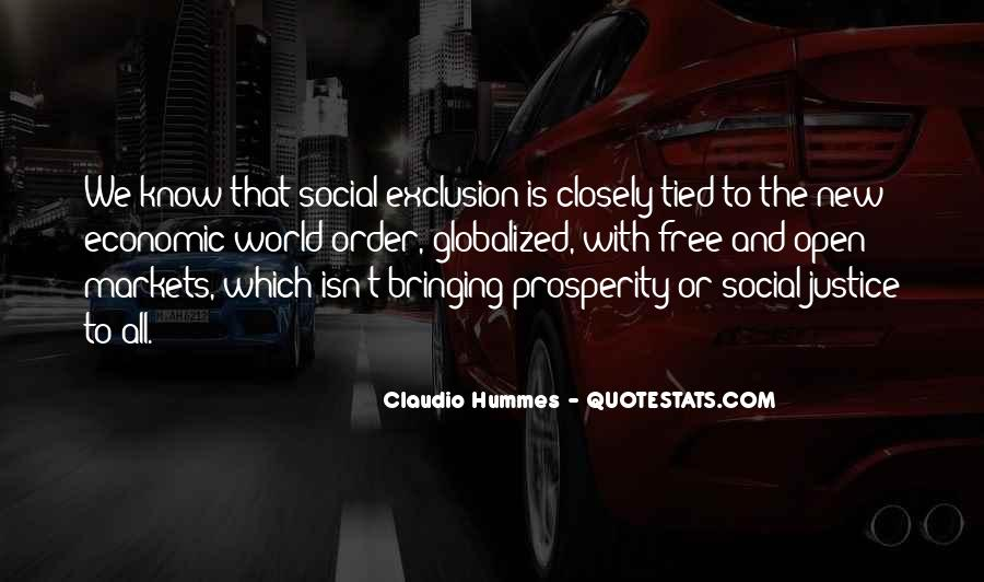Quotes About Social Exclusion #731406