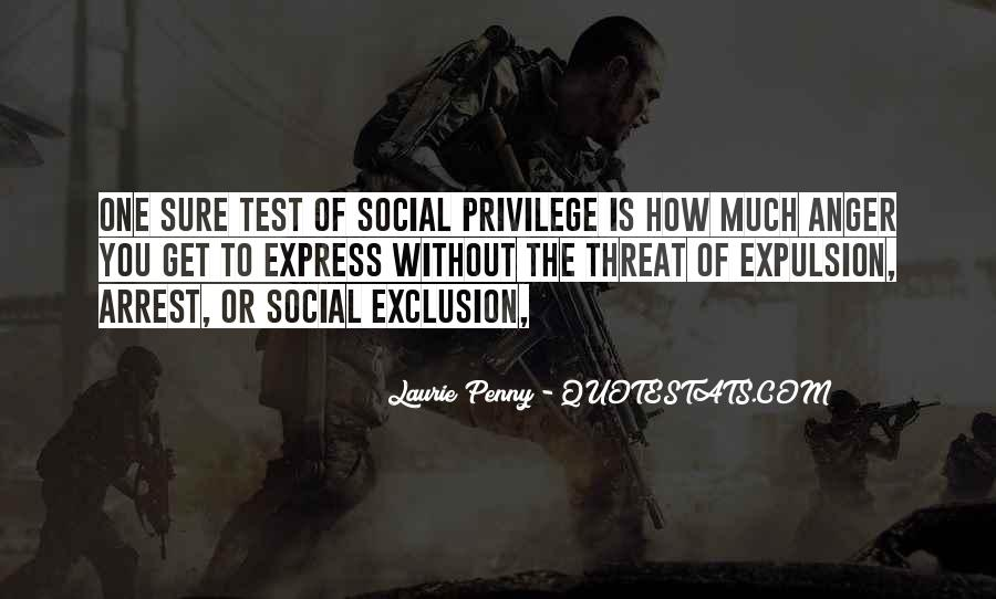 Quotes About Social Exclusion #880952