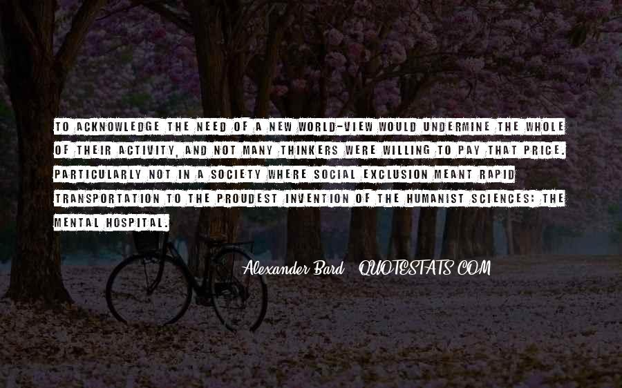 Quotes About Social Exclusion #889064