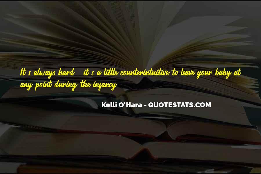 Infancy's Quotes #1460651