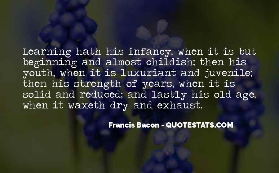 Infancy's Quotes #354408