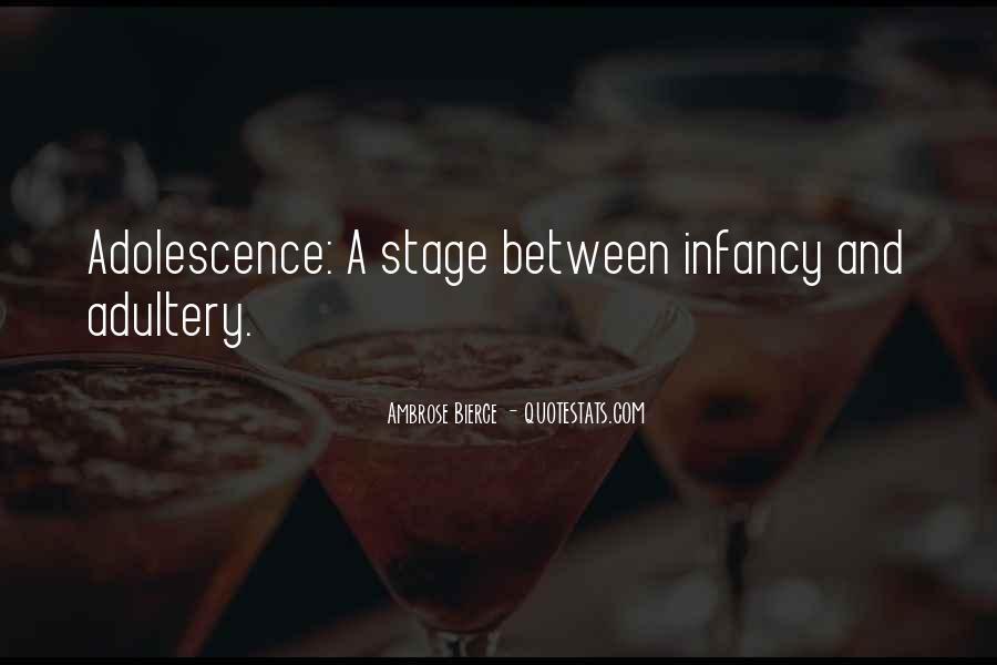 Infancy's Quotes #379770