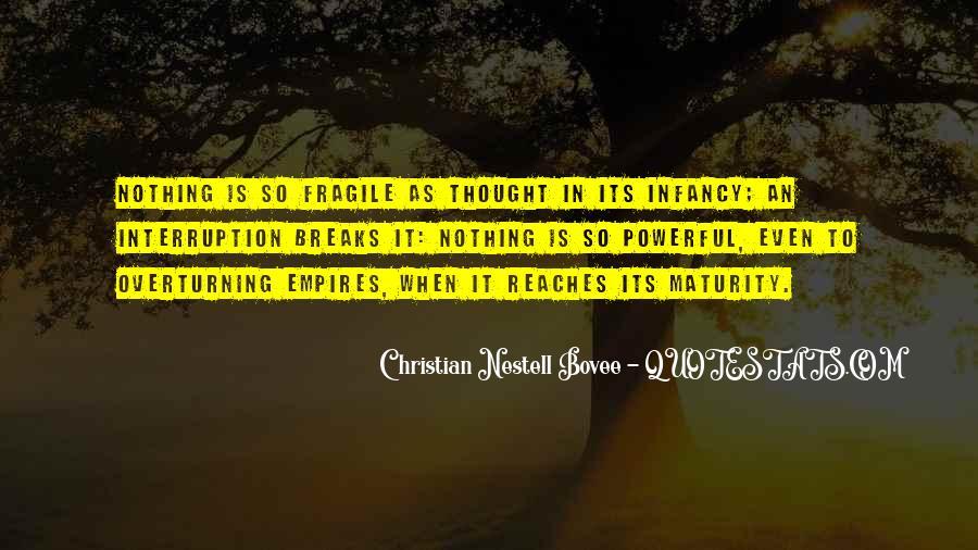 Infancy's Quotes #390613