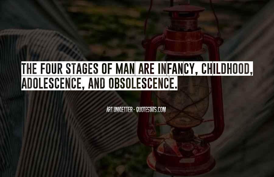Infancy's Quotes #414236