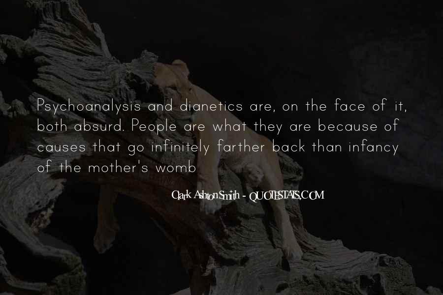 Infancy's Quotes #48598