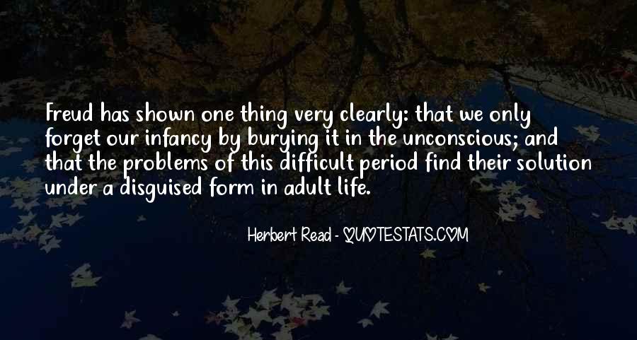 Infancy's Quotes #72916