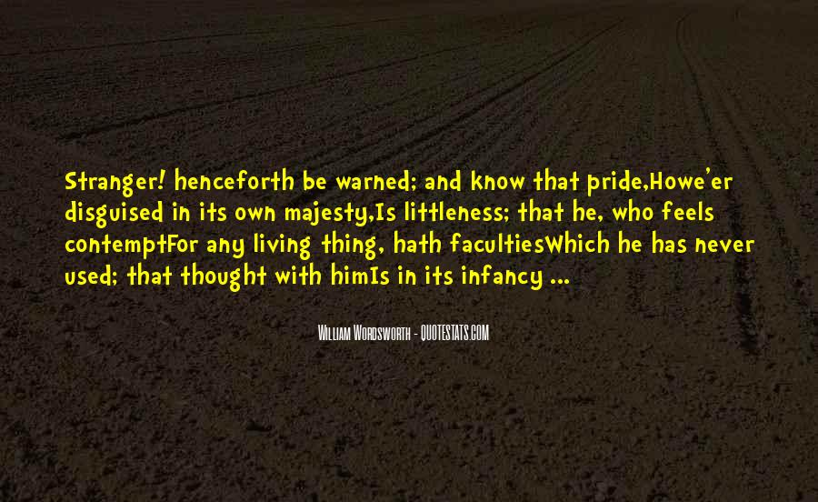 Infancy's Quotes #8739