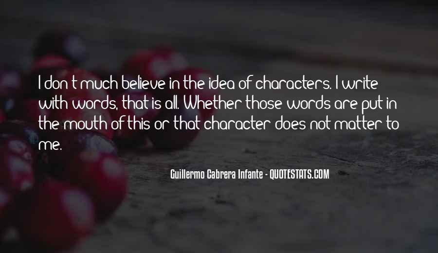 Infante Quotes #1433349