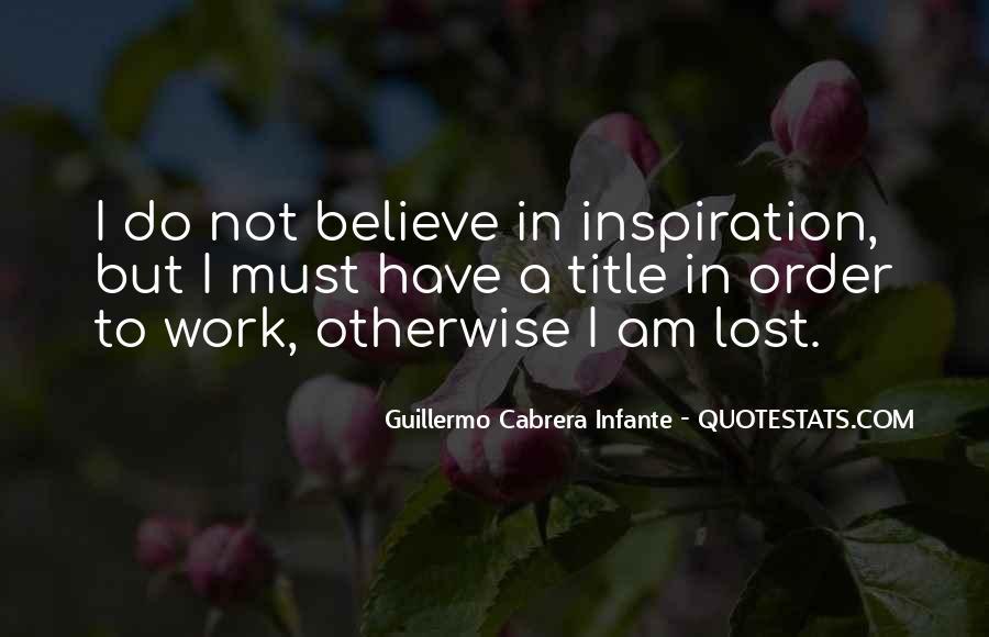 Infante Quotes #1791291