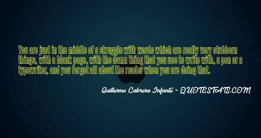 Infante Quotes #456644