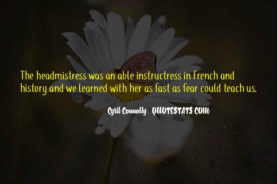 Instructress Quotes #1230898