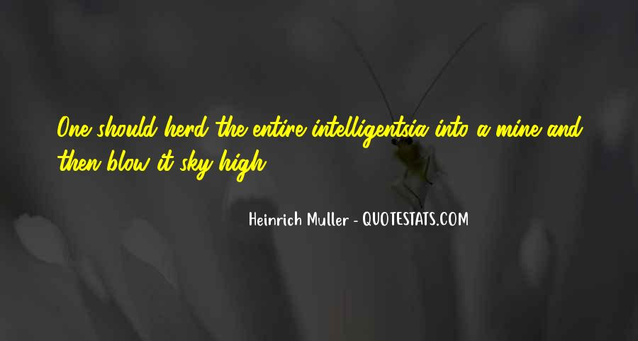 Intelligentsia's Quotes #103417